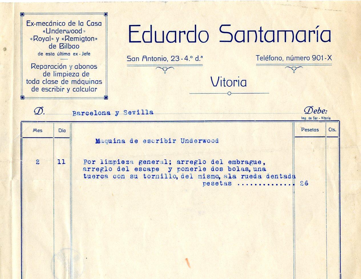 Base de datos de recibos y letras de industrias comercios - La casa del electricista bilbao ...
