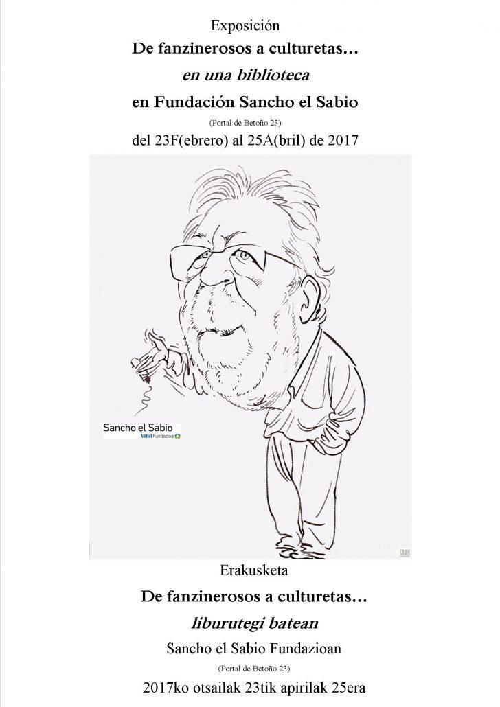 Exposición homenaje a Ángel Martínez Salazar en la Fundación Sancho el Sabio Fundazioa