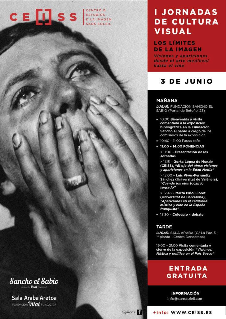 CARTEL - I JORNADAS DE CULTURA VISUAL_ WEB