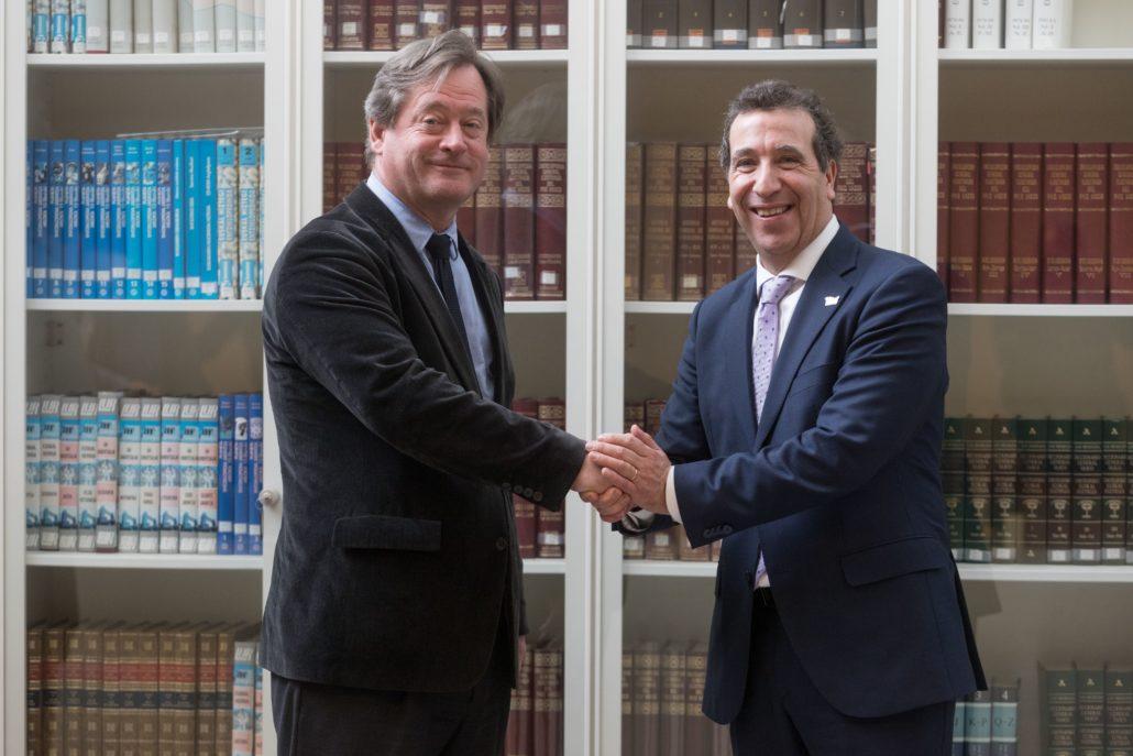 Acuerdo de colaboración entre la Fundación Sancho el Sabio y el Gobierno Vasco para impulsar la Biblioteca Digital Vasca