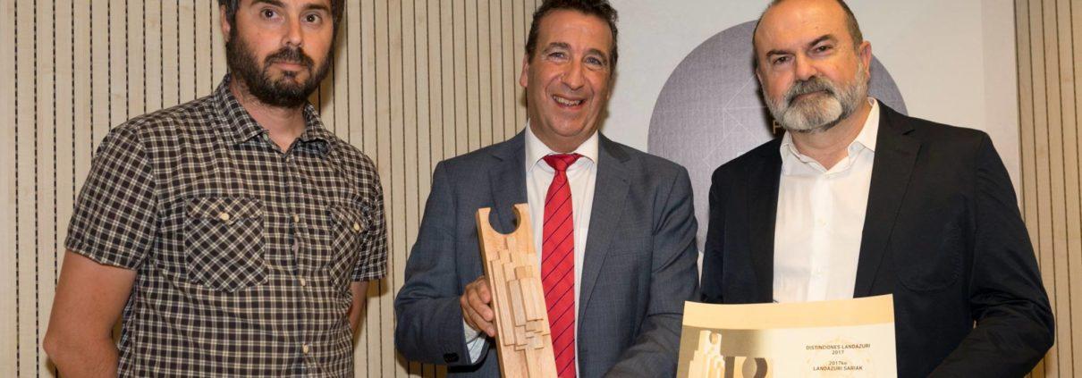 Fundación Sancho el Sabio-Distinción Landázuri 2017