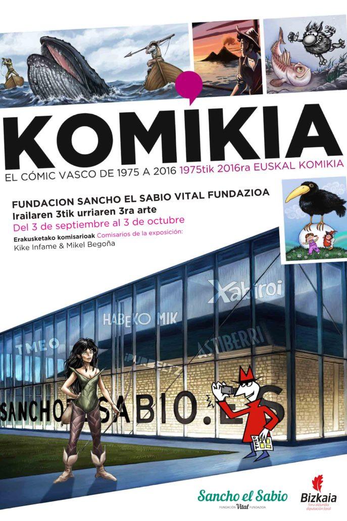 'Komikia, 1975-2017. El cómic vasco'